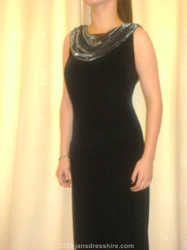 Black Dress - Size 16 - 52JO